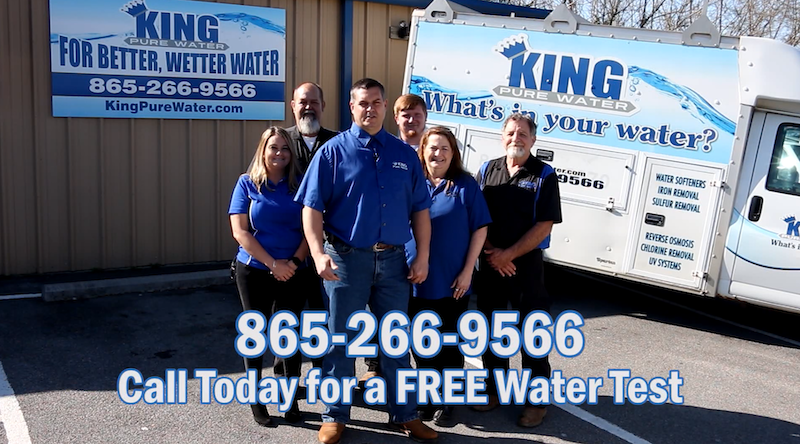 King Pure Water Employees, Water softeners, water purification, reverse osmosis